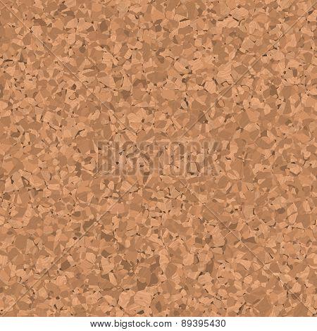 Corkboard Seamless Generated Texture