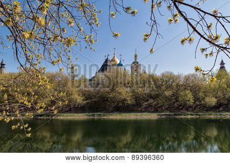 Novospassky Monastery In Moscow, Russia