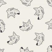 stock photo of werewolf  - Werewolf Doodle - JPG