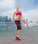 pic of hula hoop  - fitness - JPG