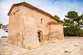 foto of mary  - Saint Michael church in Calafell town Spain - JPG
