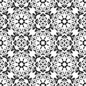 stock photo of art nouveau  - Seamless pattern of the elements of Art Nouveau - JPG