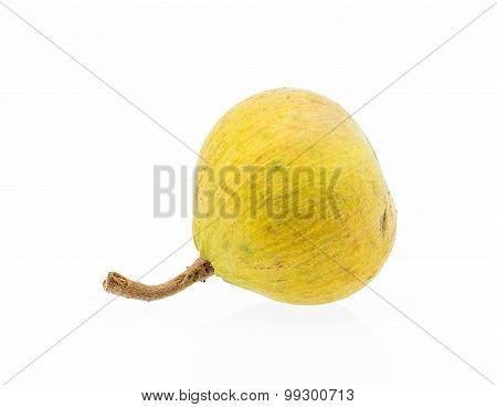 Yellow Santol Fruit Isolated
