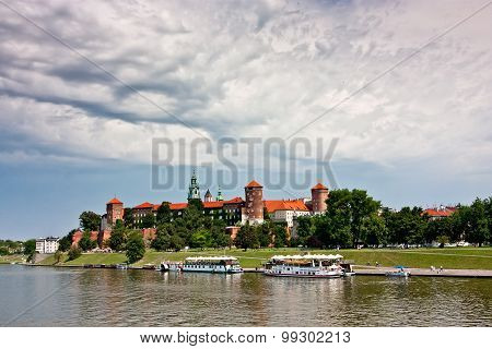 View Of Wawel Castle