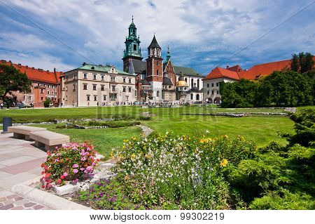 View Of Wawel Cathedral