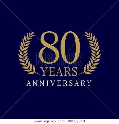 80 anniversary royal logo