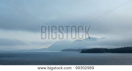 Foggy Southeast Alaska