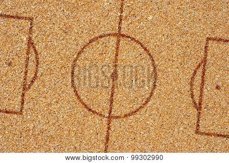 Sand Football Pitch