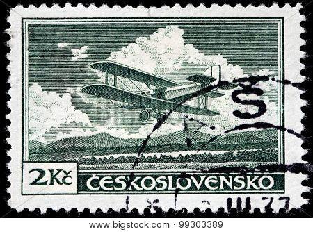 Letov S-19 Stamp