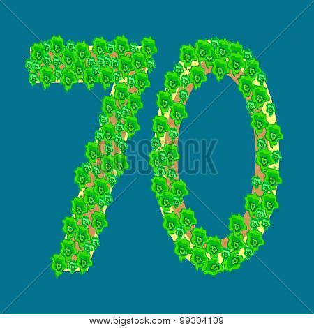 Figure Seventy 70 Anniversary Celebration Tropical Island