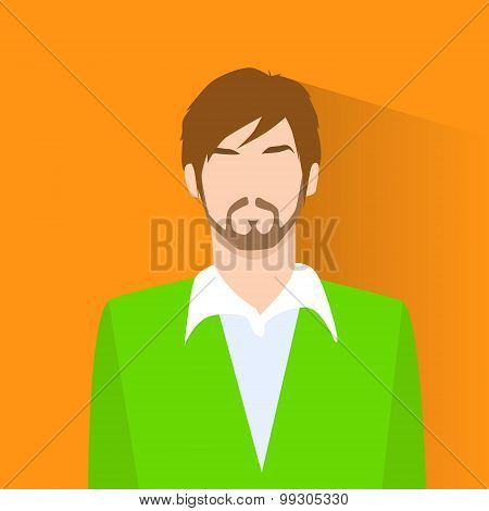 Profile Icon Male Avatar Portrait Casual Person Silhouette Face