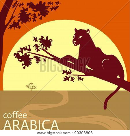 Africa Coffee Label