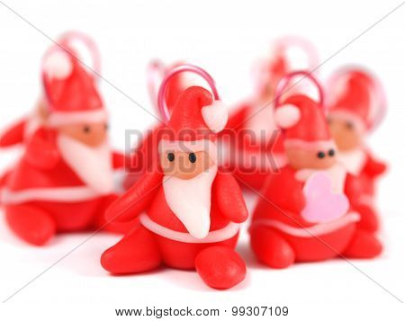 Clay Santa Claus