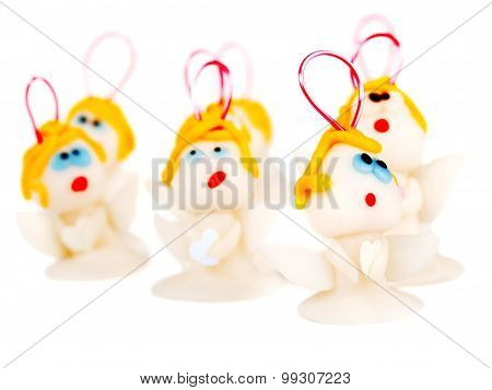 Angels, Handmade Christmas Decoration