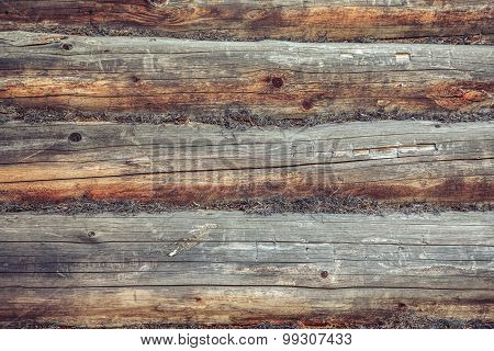 Wooden Cracked Background