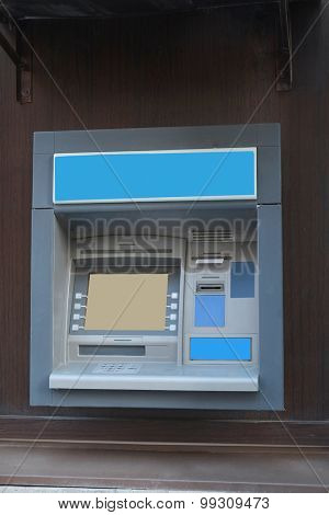 The image of cash dispenser