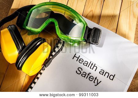 Register With Goggles And Earphones