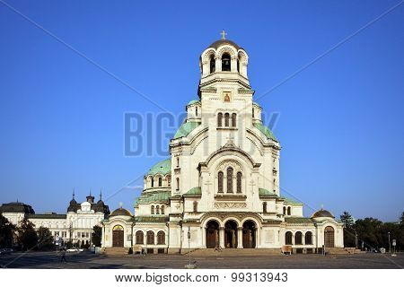 Alexander Nevsky cathedral and square, Sofia