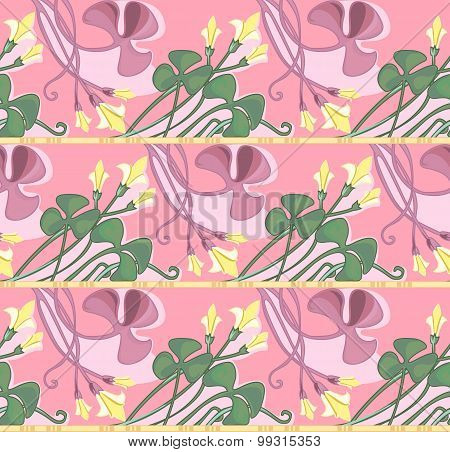 Clower Seamless Pattern