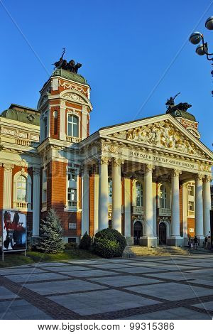 Building of Ivan Vazov National Theatre, Sofia