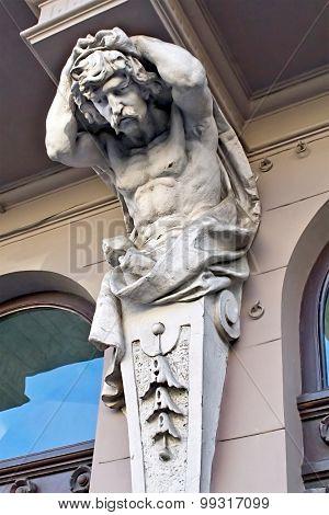 telamon's sculpture