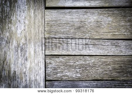 Texture And Pattern Of Old Wooden