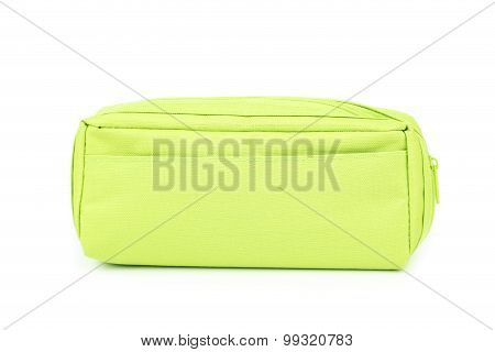 A pencil case isolated on a white
