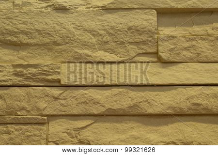 Texture sand stone wall