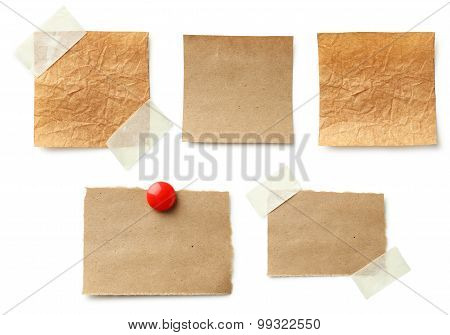 Piece of note paper
