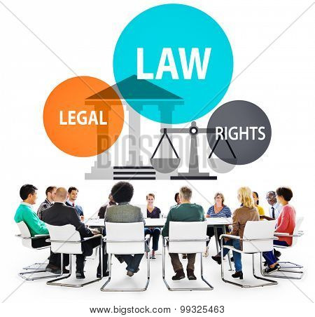 Law Legal Rights Judge Punishment Judicial Concept