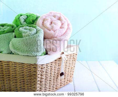 Different Colors Towels