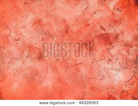 Decorative Plaster Red-pink2