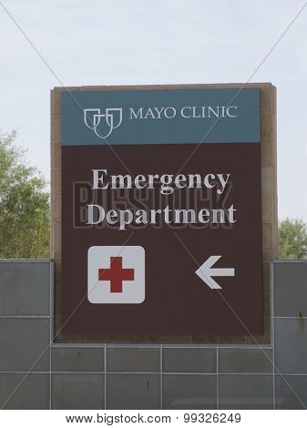 Phoenix.AZ,USA  Aug,18th,2015 Mayo Clinic Mayo Clinic is widely regarded as one of the world's greatest hospitals and ranked No. 1 on the 2014-2015 U.S. News & World Report List of