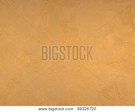 Plaster Model Gold Color