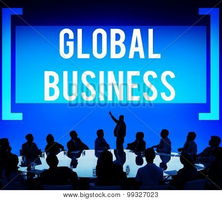 Global Business Growth Opportunity International Concept