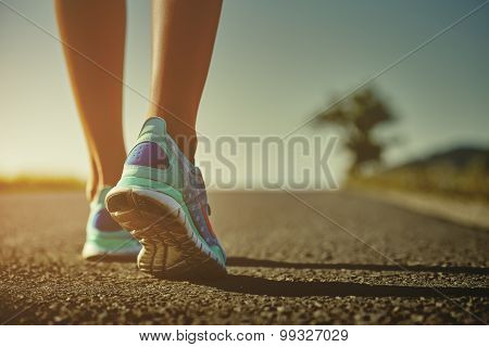 Runner Feet And Shoes