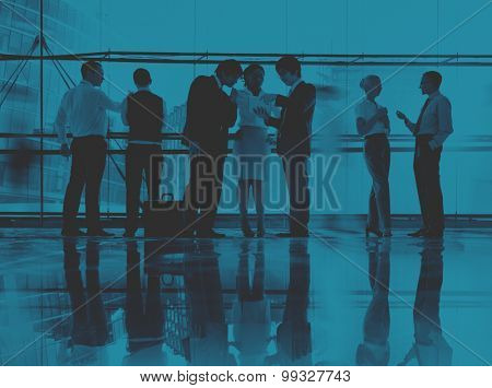 Business People Communication Colleagues Working Office Concept