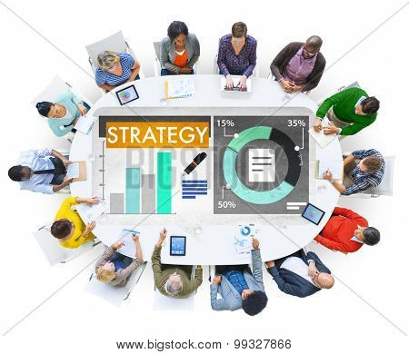 Strategy Business Planning Brainstorm Concept