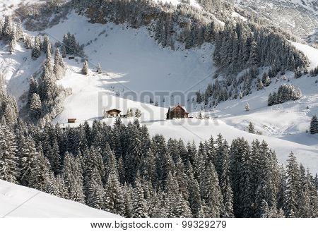 Chalets, Near Mount Biberkopf, Warth Am Alberg,vorarlberg, Austria