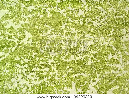 Decorative Plaster And White-green