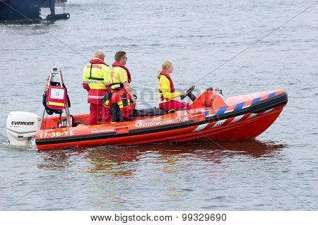 Rescue Squad Boat