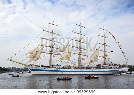 Russian Tallship Sts Mir