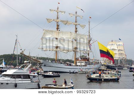 Colombian Navy Tallship Arc Gloria