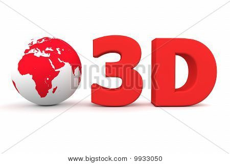 Global 3D -matt Red