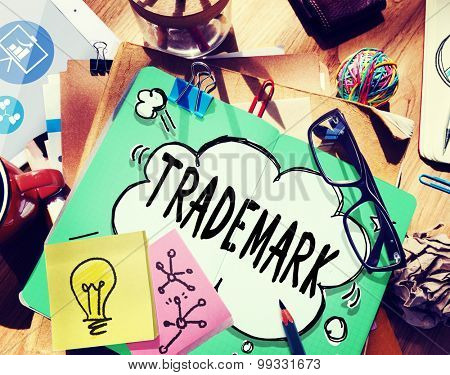 Trademark Product Marketing Identity Copyright Concept