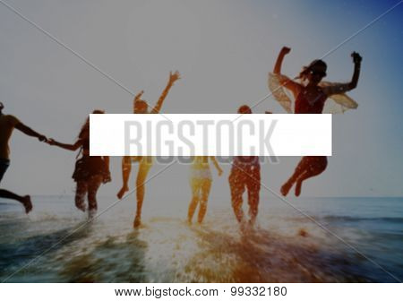 Summer Togetherness Holidays Vacation Bonding Concept