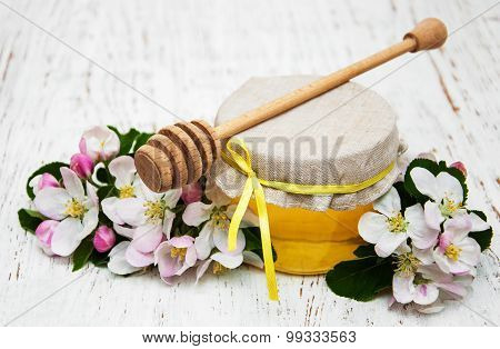Apples Blossom With Honey