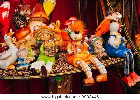 Colourful Handmade Ceramic Toys