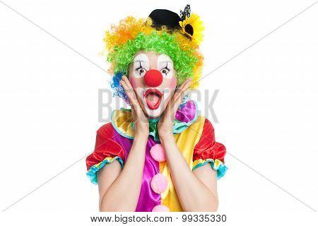 Funny Clown - Colorfullportrait