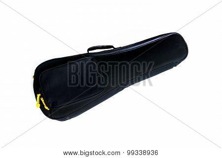 Ukulele Bag Isolated On White